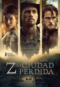 """Poster de la película """"Z, la ciudad perdida"""""""