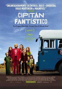 """Poster de la película """"Capitán Fantástico"""""""