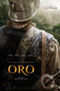 """Poster de la película """"Oro"""""""