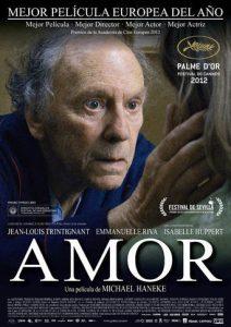 "Poster de la película ""Amor"""