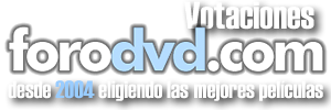 Votaciones ForoDVD