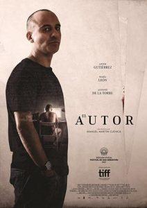 """Poster de la película """"El autor"""""""
