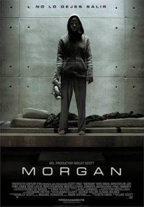 "Poster de la película ""Morgan"""