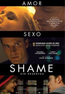 """Poster de la película """"Shame"""""""