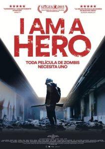 """Poster de la película """"I am a Hero"""""""
