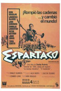 """Poster de la película """"Espartaco"""""""