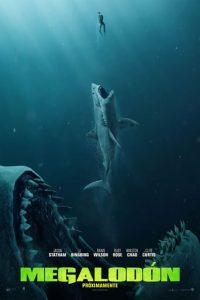 "Poster de la película ""Megalodón"""