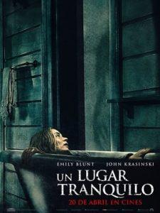 """Poster de la película """"Un lugar tranquilo"""""""