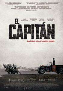 """Poster de la película """"El capitán"""""""