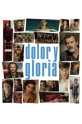 """Poster de la película """"Dolor y gloria"""""""