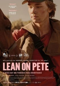 "Poster de la película ""Lean on Pete"""