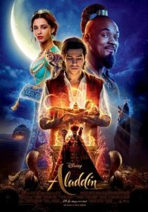 "Poster de la película ""Aladdín"""