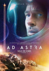 "Poster de la película ""Ad Astra"""