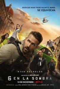 """Poster de la película """"6 en la sombra"""""""