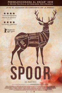 """Poster de la película """"Spoor (El rastro)"""""""