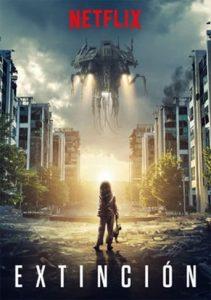 """Poster de la película """"Extinción"""""""